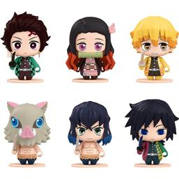 Kimetsu no Yaiba Pocket Maquette Mini Figures 6-Pack #01 5 cm