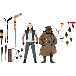 Casey Jones & Raphael in Disguise Action Figure 2-Pack 18 cm