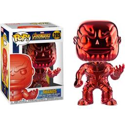 Thanos Red Chrome POP! Movies Vinyl Figur (#289)