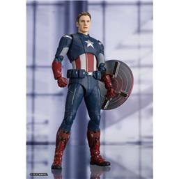 Captain America Cap VS. Cap Edition S.H. Figuarts Action Figure 15 cm