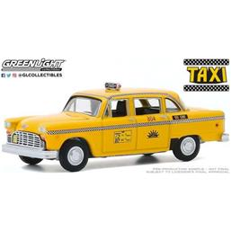 Taxi: Checker Taxi Sunshine Cab 1974 Diecast Model 1/64