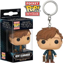 Newt Scamander Pocket POP! Nøglering
