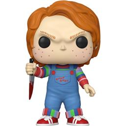 Chucky Super Sized POP! Movies Vinyl Figur 25 cm