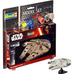 Millennium Falcon 1/241 Model Set 10 cm