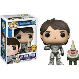 Jim With Gnome POP! Television Vinyl Figur (#466) CHASE