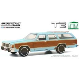 Terminator: Ford LTD Country Squire 1980 Diecast Model 1/18