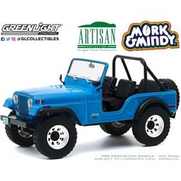 Mork & Mindy: Jeep CJ-5 1972 Diecast Model 1/18