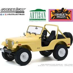 Charlie´s Angels: Jeep CJ-5 1980 Diecast Model 1/18