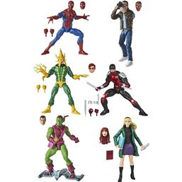 Spider-Man Retro Collection Action Figures 15 cm 6-Pack