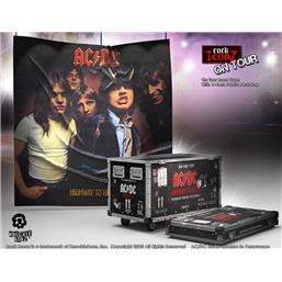 Highway to Hell Road Case Statue & Stage Backdrop Rock Ikonz On Tour