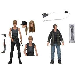 Sarah Connor & John Connor Action Figure 2-Pack 18 cm