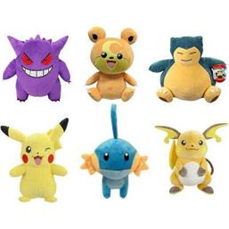 Pokémon Plush Figures 30 cm Wave 5 6-Pack