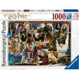 Harry Potter: Harry Potter vs. Voldemort Puslespil 1000 Brikker