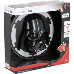 Star Wars: 3D Darth Vader LED Væglampe