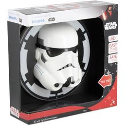 Star Wars: Stormtrooper 3D LED Væglampe