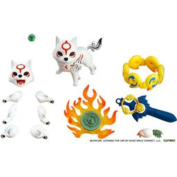 Okami:  Amaterasu DX Version Nendoroid Action Figure10 cm