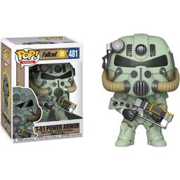 Fallout: T-51 Power Armor POP! Games Vinyl Figur (#481)
