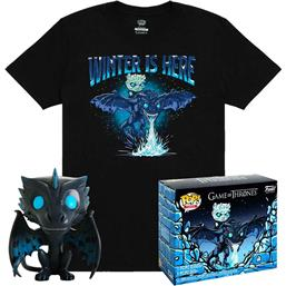 Icy Viserion POP! & Tee Box