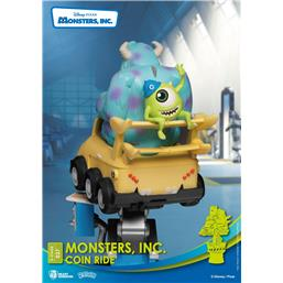 Monsters: Sulley and Mike Coin Ride Series D-Stage PVC Diorama 16 cm