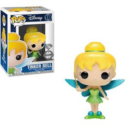 Peter Pan: Tinker Bell (Diamond Glitter) POP! Disney Vinyl Figur (#10)