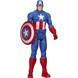 Captain America Avengers Assemble Titan Hero Series Action Figure 30 cm