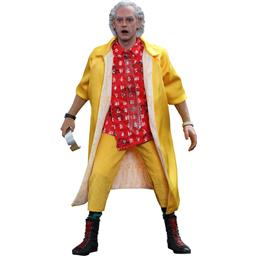 Dr. Emmett Brown Movie Masterpiece Action Figur 1/6