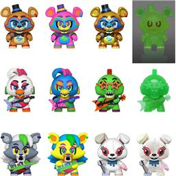Five Nights at Freddy's (FNAF): Security Breach Mystery Minis Vinyl Mini Figurer 12 pak