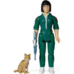 Ripley with Jonesy (Blue Card) ReAction Action Figure 10 cm