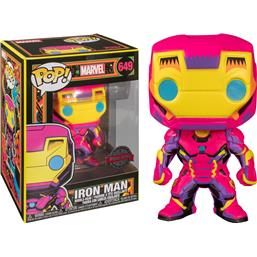 Iron Man: Iron Man Black Light Version (#649)