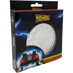 Back To The Future: Back to the Future Coaster 4-Pack
