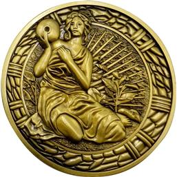 Resident Evil: Maiden Medallion Replica 1/1