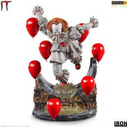 Pennywise Chapter Two Deluxe Art Scale Statue 1/10 21 cm
