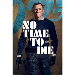 No Time To Die Stance Plakat