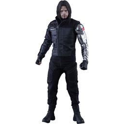 Captain America: Winter Soldier Movie Masterpiece Action Figur 1/6 Skala