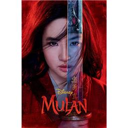 Mulan Be Legendary Plakat