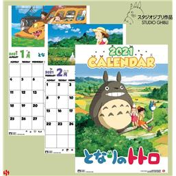 Studio Ghibli: Totoro Calendar 2021 English Version