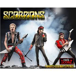 Scorpions Rock Iconz Statue 3-Pack 23 cm