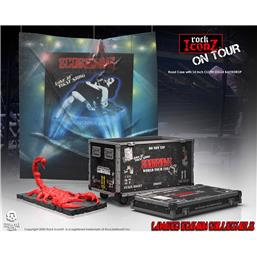 On Tour World Tour 1984 Road Case Statue and Stage Backdrop
