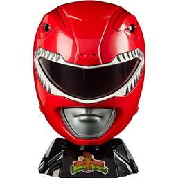 Red Ranger Helmet Cosplay Replica 1/1