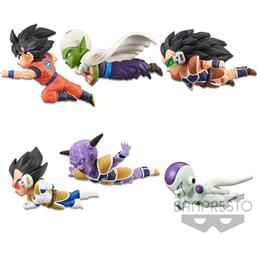 Dragon Ball Z WCF ChiBi PVC Statues Vol1 6-Pack 7 cm