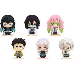 Kimetsu no Yaiba Pocket Maquette Mini Figures 6-Pack #03 5 cm