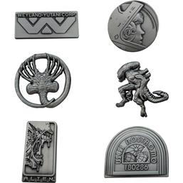 Alien: Alien Pin Badge 6-Pack Limited Edition