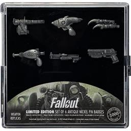 Fallout: Fallout Pin Badge 6-Pack Limited Edition