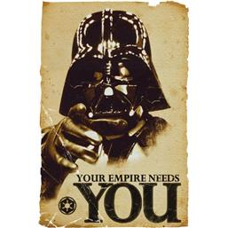 Darth Vader - Your Empire Needs You plakat