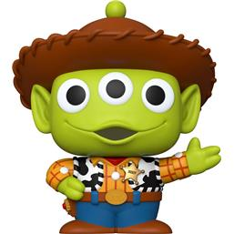 Alien Remix Woody Super Sized POP! Disney Vinyl Figur 25 cm (#756)