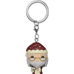 Albus Dumbledore Holiday Pocket POP! Nøglering