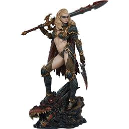 Diverse: Dragon Slayer: Warrior Forged in Flame Statue 47 cm