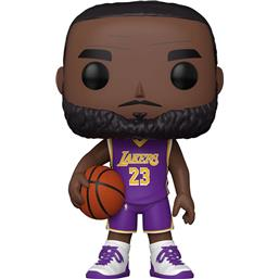 NBA: LeBron James (Purple Jersey) Super Sized POP! Vinyl Figur 25 cm