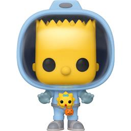 Bart w/Chestburster Maggie POP! TV Vinyl Figur