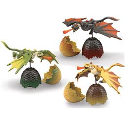 Dragon Eggs Mega Construx Black Series Samlesæt